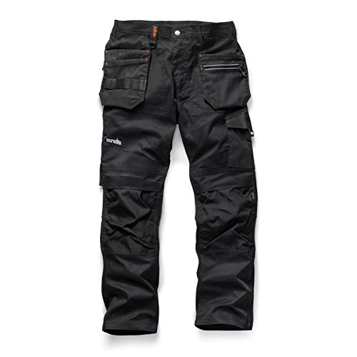 Price comparison product image Lamp Post Electrical Supplies Slim Fit Trade Flex Slim Fit Work Trousers (32R T54498)