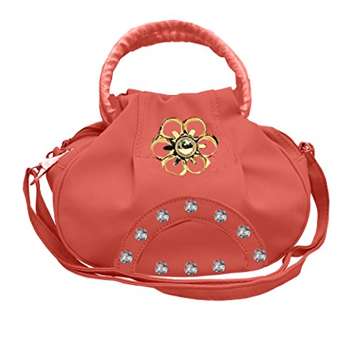 BFC- Buy for change Fancy Stylish Elegant Women\'s Cross Body Sling Bag (Peach Pink)