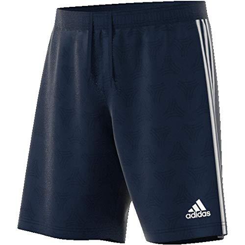 adidas Tan MW Jqd Shorts, Herren L blau (Collegiate Navy)