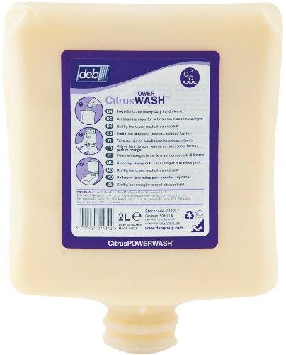 DEB Citrus Power Wash - 2 Liter Kartusche - Citrus Moisturizing Body Wash
