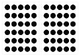 Wandtattoo Kinderzimmer Wandsticker Set Schwarze Kreise Stück zum Kleben Wandta