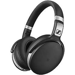 [Inalámbrico] Sennheiser HD 4.50BTNC - Aurculares inalámbricos de parte trasera cerrada (con cancelación de ruido) color negro