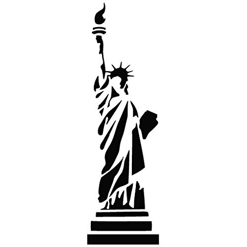 statue-of-liberty-new-york-tribal-decal-15cm-black-vinyl-removable-decorative-sticker-for-wall-car-i