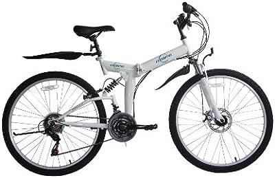 Ecosmo 26SF02W - Bicicleta de montaña para mujer, plegable, 26