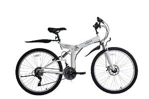 "ECOSMO Ecosmo 26"" Folding Mountain Bicycle Bike 21SP SHIMANO-26SF02W+Carry Bag"