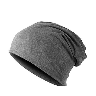 DFKHNOE Wintermütze Winter warme Mützen für Frauen lässig gestapelt gestrickte Mütze Kappen Männer Hüte einfarbig Hip Hop Skullies Unisex weiblichen Mützen von DFKHNOE17 - Outdoor Shop