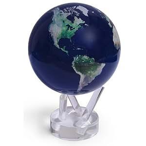 MOVA Globe Terrestre, Prise de Vue par Satellite 12cm avec un « L'Europe de jour et de nuit » dessous-de-verre en 3D gratuit