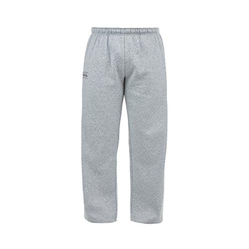 Canterbury da uomo Core logo pile pantaloni Grey Marl