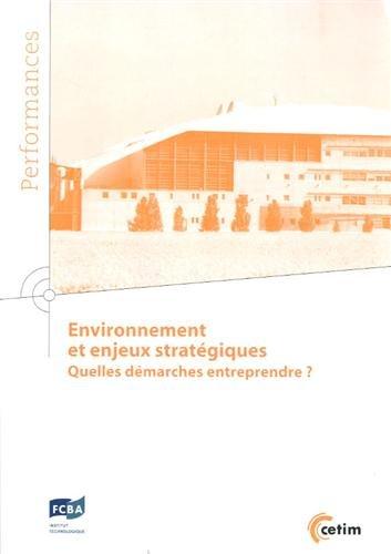 Environnement et enjeux stratégiques : Quelles démarches entreprendre ?