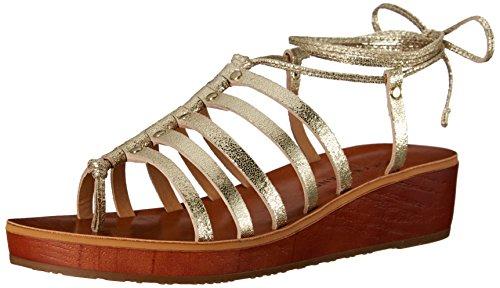 lucky-brand-hulumi-femmes-us-8-dore-sandales-gladiateur