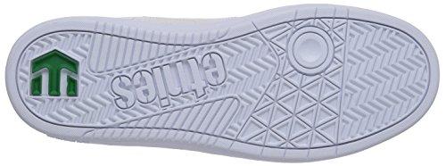 Etnies FADER LS, Chaussures de skateboard homme Blanc (White 100)