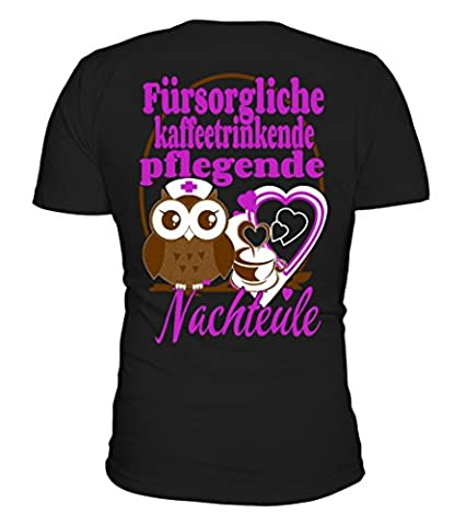 Krankenschwester Krankenpflege Pflege T-Shirt Unisex von Teezily (Krankenschwestern Pflege T-shirt)