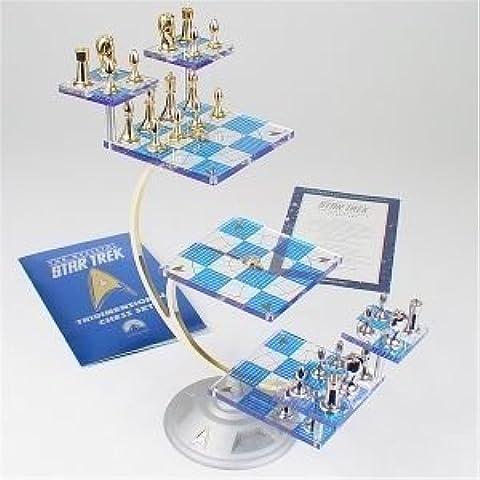Star Trek Tri-Dimensional Chess Set by the Franklin Mint by Star Trek