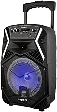 Impex TS 25B Multimedia Portable Trolley Speaker With Wireless Mic