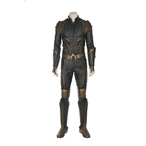 CosplayJet Aquaman Kostüm, Aquaman Cosplay Kostüm für Herren, Erwachsene, Leder-Body, Jumpsuit Strumpfhose XX-Large