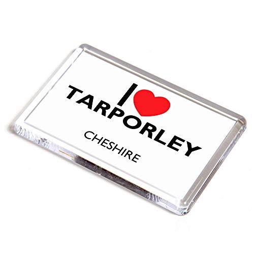 Unbekannt Kühlschrankmagnet - I Love Tarporley - Cheshire