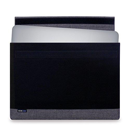 Adore June 15,6 Zoll Hülle Bold für Dell XPS 15, Laptop-Hülle aus elegantem Canvas Stoff für Dell XPS 15 Non-Touch & Touch/2-in-1 2018 2017 2015 (Modelle: Dell XPS 15 9570, 9575, 9560, 9550) (Xps-touch)
