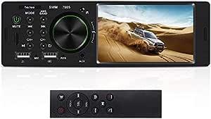 Bluetooth Autoradio Mit Freisprecheinrichtung Bedee 4 1 Hd Auto Mp5 Player Fm Usb Aux Sd Digital Media