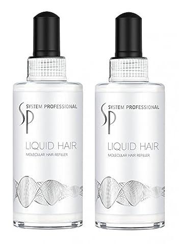 Wella SP Repair Liquid Hair 2 x 100 ml strapaziertes Haar System Professional Care