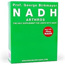 Prof. George Birkmayer NADH – Arthros (60 Kapseln, 20 mg NADH / Coenzym 1 pro Kapsel)