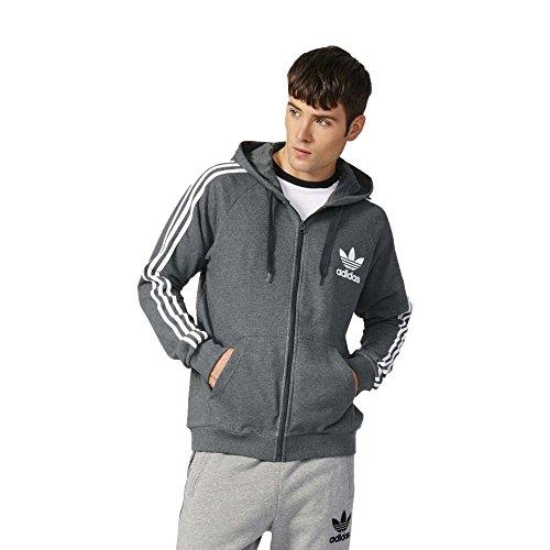 Adidas Clfn Ft Fz Felpa Con Cappuccio