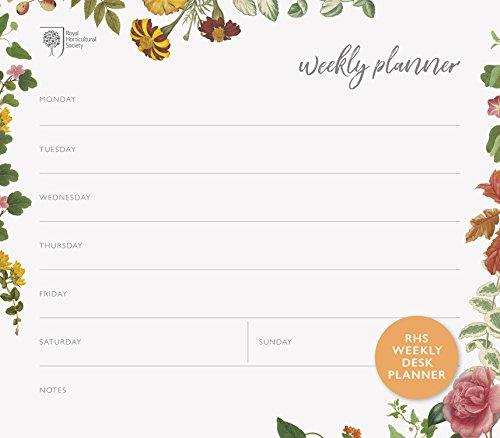RHS Weekly Desk Planner (Stationery)