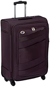 American Tourister Polyester 69 cms Purple Softsided Carry-On