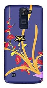 TrilMil Printed Designer Mobile Case Back Cover For LG K10