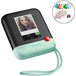 Polaroid Pop 2.0 - Appareil Photo Instantané de 20 Mp, Écran Tactile de 3,97 Pouces, Wi-Fi, Tirages Photo Zink Zero Ink 9 x 11 cm, Vert