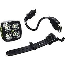 AWE® aweblitztm 4LED USB de la batería Luz delantera–Foco frontal para Bici 80lúmenes