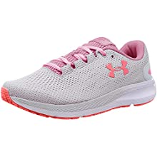 Under Armour Women's Charged Pursuit 2 Running Shoes, Grey (Halo Gray/White/Lipstick), 3 UK 36 EU