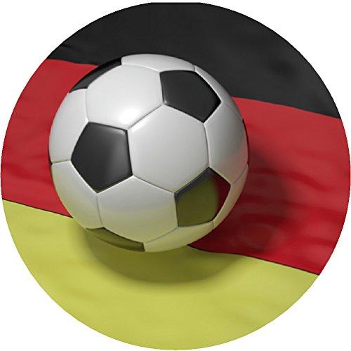 Tortenaufleger Fussball 24