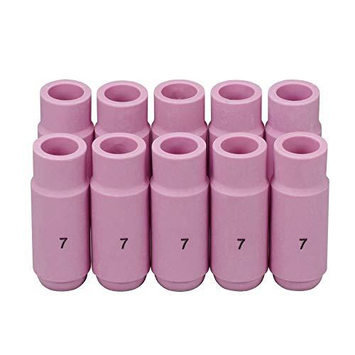 Werkzeuge Schweißbrenner 10 Stück 10n47 Keramiktassen Düse #7 Für Sr Pta Db Wp17 18 26 Serie Fackel