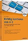 Richtig Kontieren von A-Z - inkl. Arbeitshilfen online und CD-ROM: