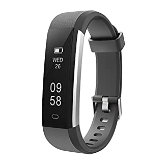 Letsfit Fitness Tracker, IP67 Waterproof Activity Tracker with Pedometer Step Counter Watch and Sleep Monitor Calorie Counter Watch, Slim Smart Bracelet for Kids Women Men 10