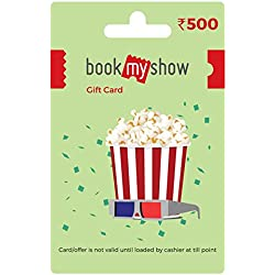 BookMyShow Gift Card-Rs.500
