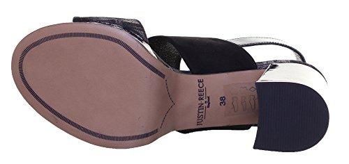 Justin Reece 5400 Sandal, Sandales pour femme Noir