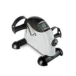Ultrasport Mini Bike 100, praktischer Arm- und Beintrainer mit LCD-Display, Fitnessbike, Fahrradergometer für das Büro, tolles Trainingsgerät für Senioren und Sportler