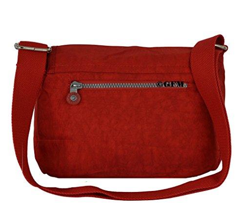 Envío Libre Descuento Grande GFM da donna in nylon leggero piccolo croce corpo borsa a tracolla Style 1 - Red (12VLL) Aclaramiento Perfecta Aclaramiento Muy Barato Llegar A Comprar Barato En Línea lh2lBNaS