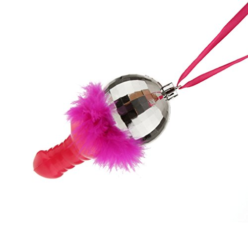 Gazechimp Lustig Bachelorette Party Halskette Feder Badminton Anhänger Dekor (Kostüm Mädchen Badminton)