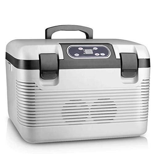 Hongyan Mini Fridges Refrigerador refrigerado por Agua frigorífico Dual del refrigerador del Coche de 19L 24V pequeño refrigerador casero del refrigerador A+