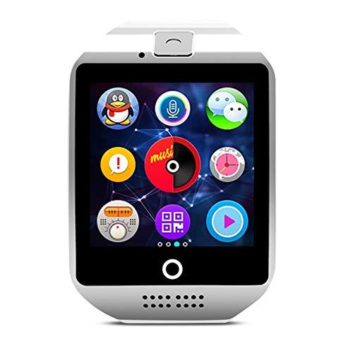 JIEGEGE Fitness-Uhr, Smart Watch Mit Bluetooth-Kamera Smartwatch, TFT-High-Definition-LCD, SIM-TF-Kartensteckplatz Fitness Activity Tracker Sportuhr Für Android and IOS - Dusche Uhr Lcd