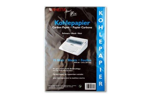 25 Blatt Kohlepapier DIN A4
