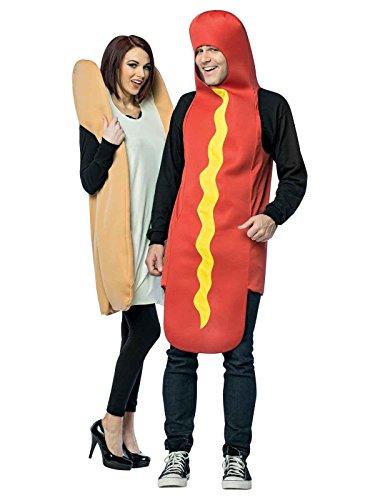 Hot Dog & Bun Adult Couples ()