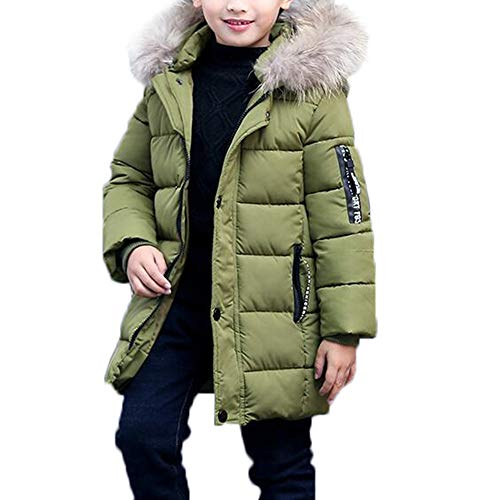 SMITHROAD Jungen Mantel Jacket Parka Kinder Jungen Mantel Winter Baumwolle Kindermantel Langarm...