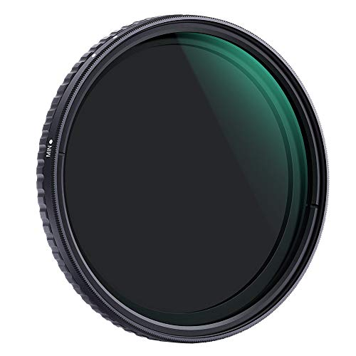 Objektiv Filter 62mm K&F Concept Nano Slim Neutral Dichte Graufilter 62mm Variabler ND Filter ND2-ND32