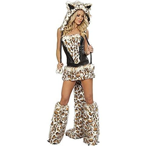 Cat Femme Costumes Sexy - Femme Sexy Fausse Fourrure Léopard Cat sexy