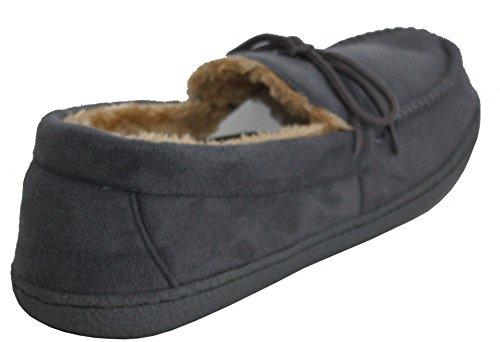 Herren-Schuhe, gefüttert, leicht, warm, Größe: 41 - 47 Grey/Lace