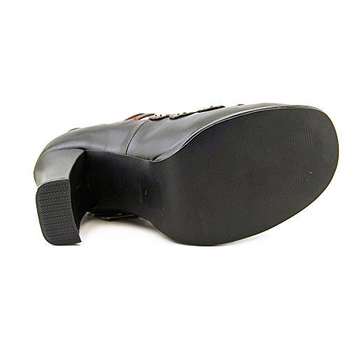 Demonia - Pantofole Donna ecopelle nera