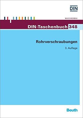 Preisvergleich Produktbild Rohrverschraubungen (DIN-Taschenbuch)